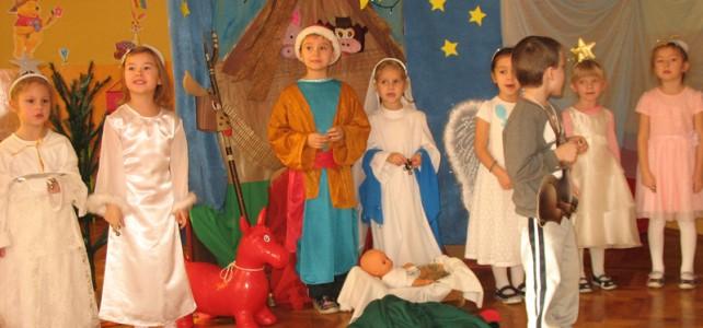 Boże Narodzenie w przedszkolu – grudzień 2014