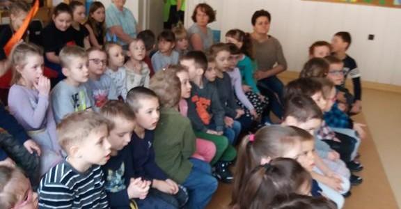 W szkole- marzec 2017- Grupa V i VI