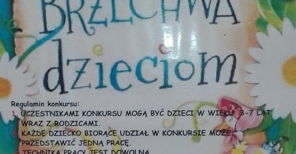 """Przedszkolny konkurs plastyczny i recytatorski """"Brzechwa dzieciom""""- kwiecień-maj 2017"""