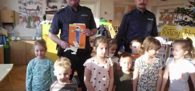 Spotkanie z policjantami- grudzień 2017