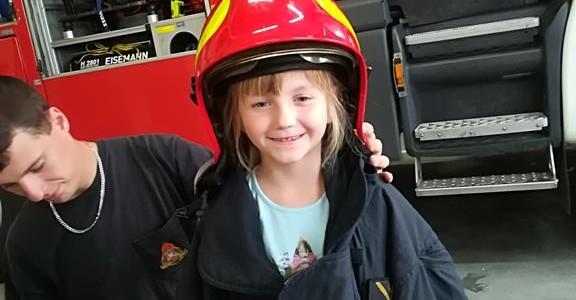 Wycieczka do Państwowej Straży Pożarnej w Bielsku-Białej- czerwiec gr II i gr IV