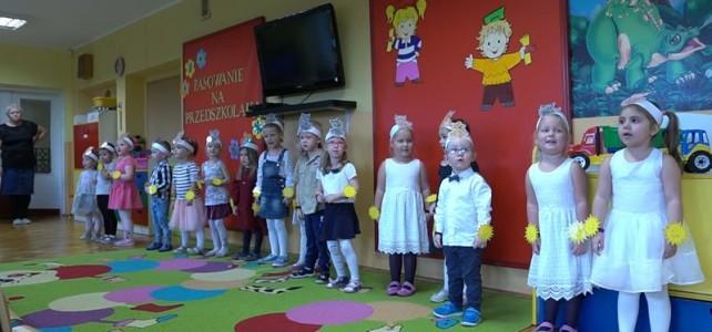 Pasowanie na przedszkolaka- gr I i II