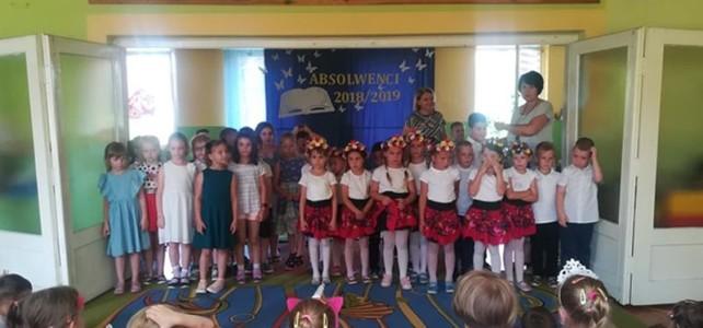 Występ taneczny 6 latków- czerwiec 2019