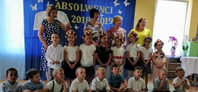 Pożegnanie przedszkola gr V i VI- czerwiec 2019