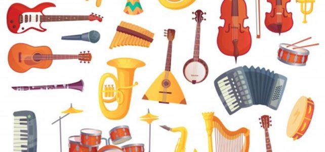 Bawimy się i uczymy online- Instrumenty muzyczne